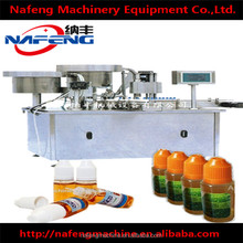 NFDGK-I/II Factory Price Automatic15ml Various Flavors E Cig Juice Solution Filling and Capping Machine