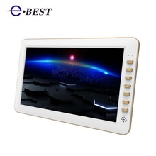10 inch slim design portable mini digital tv