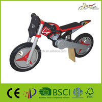 "Motowonder Motorcycle Style 12"" Wooden Balance Bicycle for Kids"