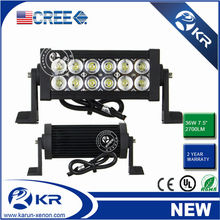 "led light bar 36W super quality CE ROHS 7.5"" led light bar spot led intelligent bar stage lights"