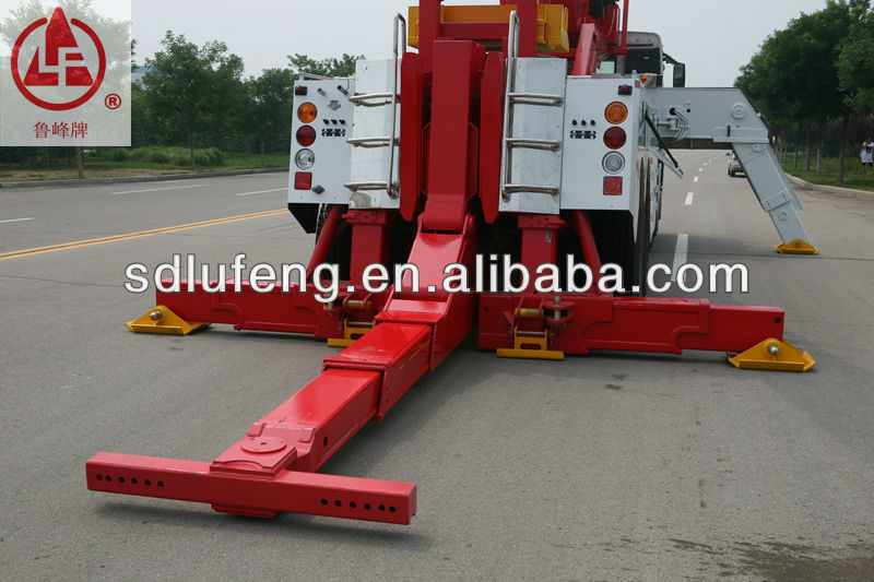 50t heavy duty tow truck under lift wrecker truck for sale from producers