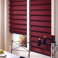 Good Quality with competitve price Motorized Roman Blinds / 12v dc motor / roman shades curtains