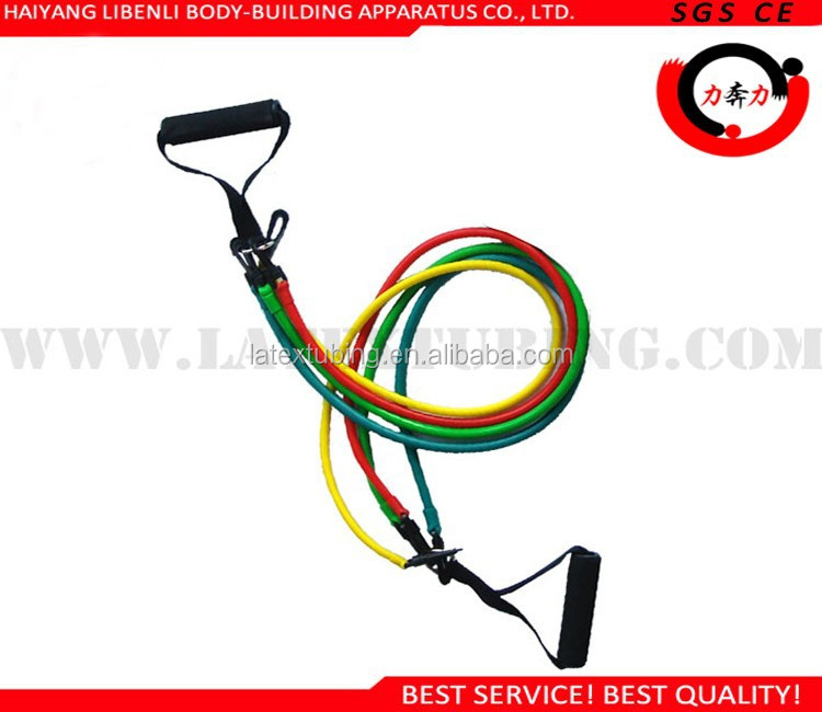 Resistance Band Type Resistance Training Latex Bands Upper Body Kit