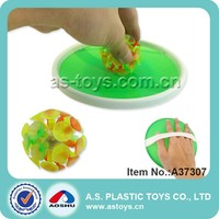 Outdoor Sport Light-Up Cupule Plastic Suction Ball Racket Sticky Ball Game For Kids