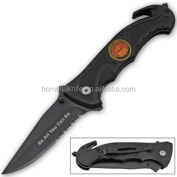 multi-function stainless steel rescue survival g10 pocket knife