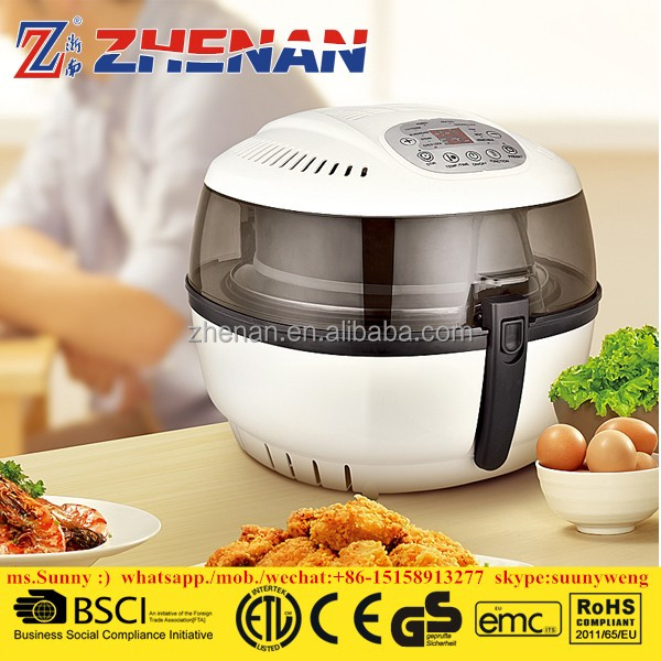 2017 new item electric industrial large capacity air deep fryer without oil