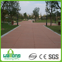 Anti-UV Waterproof Co extrusion outdoor decking wpc floor tiles in philippines