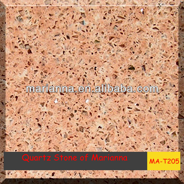 MA-T205 Artifical quartz stone,big size slab,more popular than marble top quality