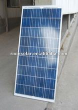 120W High Quality CE/TUV Polycrystalline Silicon Solar Panels systems photovoltaic panel