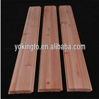 tongue and groove cedar planks