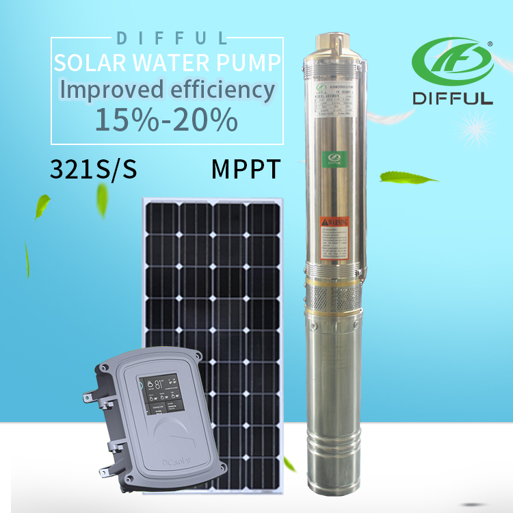 solar pump inverter with mppt and vfd of solar powered water pump