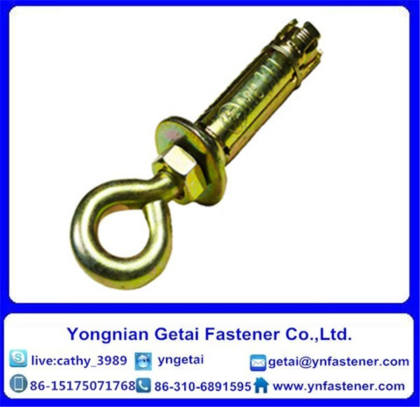 Zinc Plated Steel Eye Bolt Expansion Anchor in hot sale