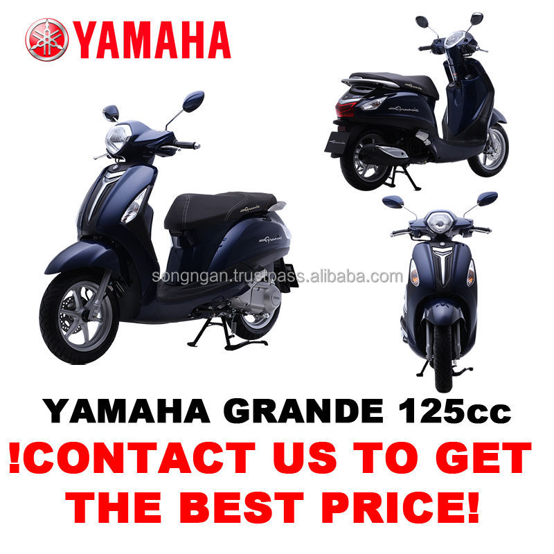 NEW MOTORCYCLE - GRANDE DELUXE 125cc (SCOOTER)