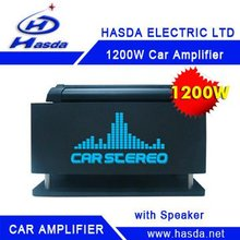 Hasda Best selling power car amplifier to all models 1200W high-quality car amplifer