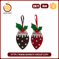 Wholesale christmas wall hanging decorations made in china with patterns