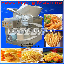 Solon offer deep fried food frying machine for potato chips/peanuts/onion/cashew/shrimp/fried chicken/vegetable/fruit