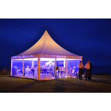 Hot sale 6x6m outdoor arabic transparent exhibition pagoda marquee tent for sale