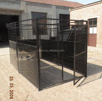 Black Dog Kennel/Outdoor Pet Kennel/Dog Run Kennel