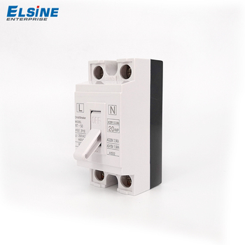 Best quality 2pole MCB NT50 black and white color matching panel installation mini circuit breaker