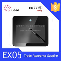 Ugee EX05 drawing pad 8x5 inches usb 2048 levels digital graphic tablet for writing