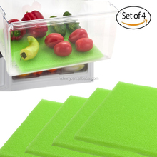 Fruit & Veggie Life Extender Liner for Refrigerator Drawers (4 Pack) Extends the Life of Your Produce & Prevents Spoilage, 12X