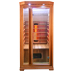 Corner mini infrared sauna