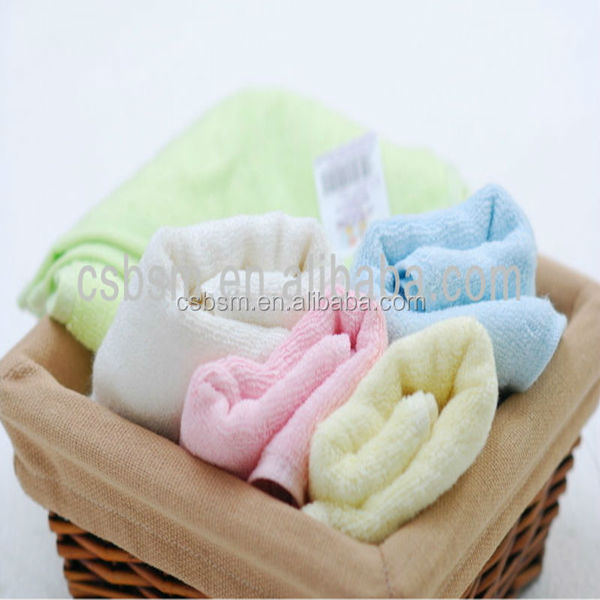 Plain Dyed Bright Colored Bath Towels
