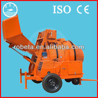 high quality 1 yard concrete mixer/ concrete mixer with skip