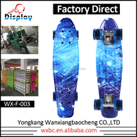 Chinese Factory Wholesale Customized Electric Skateboard with PU Wheel