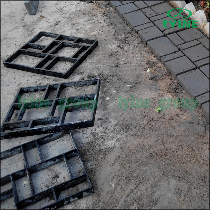 Paving Brick Patio Walk Maker Diy Plastic Pavement Mold Garden Paving Stone  Concrete   Buy Garden Paving Stone Concrete,Diy Plastic Pavement  Mold,Paving ...