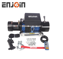 ENJOIN 12000 Lb 12v Aoto Car 12000lbs For 4wd Offroad Clubs 4x4 12000lb Electric Winch