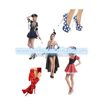China Wholesale TV movie Carnival Adult Wholesale hot sale party costume with shoes styles fancy dress