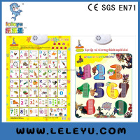 Teaching English educational wall charts for children