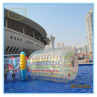 TPU 1.0mm inflatable water ball price,water roller,inflatable hamster ball for kids