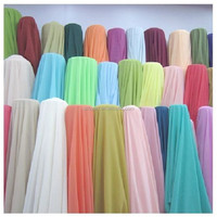 "Chiffon Fabric 60"" Wide Roll Sheer Draping 40 Color Wedding Party Decor"