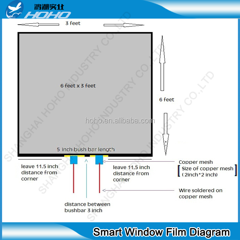 New tech smart glass for car smart glass shower door