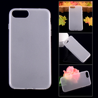 Matt TPU back cover case for iphone7 plus gel soft case