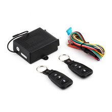 Universal Car Auto Remote Central lock Kit Door Lock Locking Vehicle Keyless Entry System With Remote Controllers Accessories