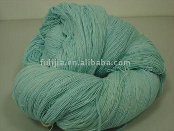 cotton and acrylic blend yarn