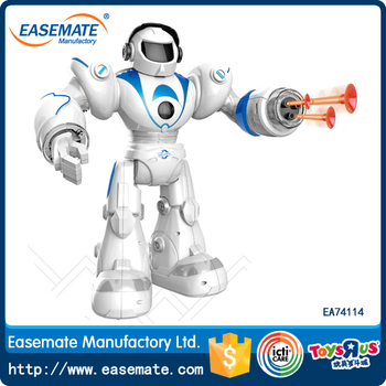 Good quality mini robot with light plastic toys rc fighting robot