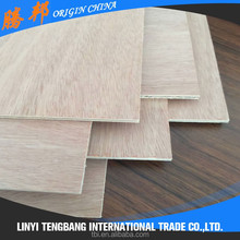 furniture grade natural wood veneer commercial plywood board