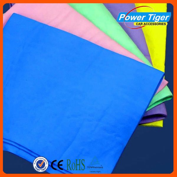 Multipurpose high Absorbent synthetic chamois car cleaning cloth