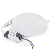 15W China Factory Diffused <strong>Flat</strong> Square Round Ultra Slim Ceiling Light Led Panel Lamp