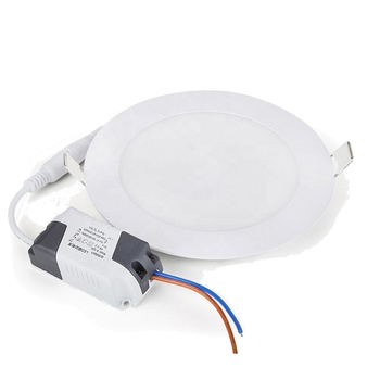 15W China Factory Diffused Flat Square Round Ultra Slim Ceiling Light Led Panel Lamp