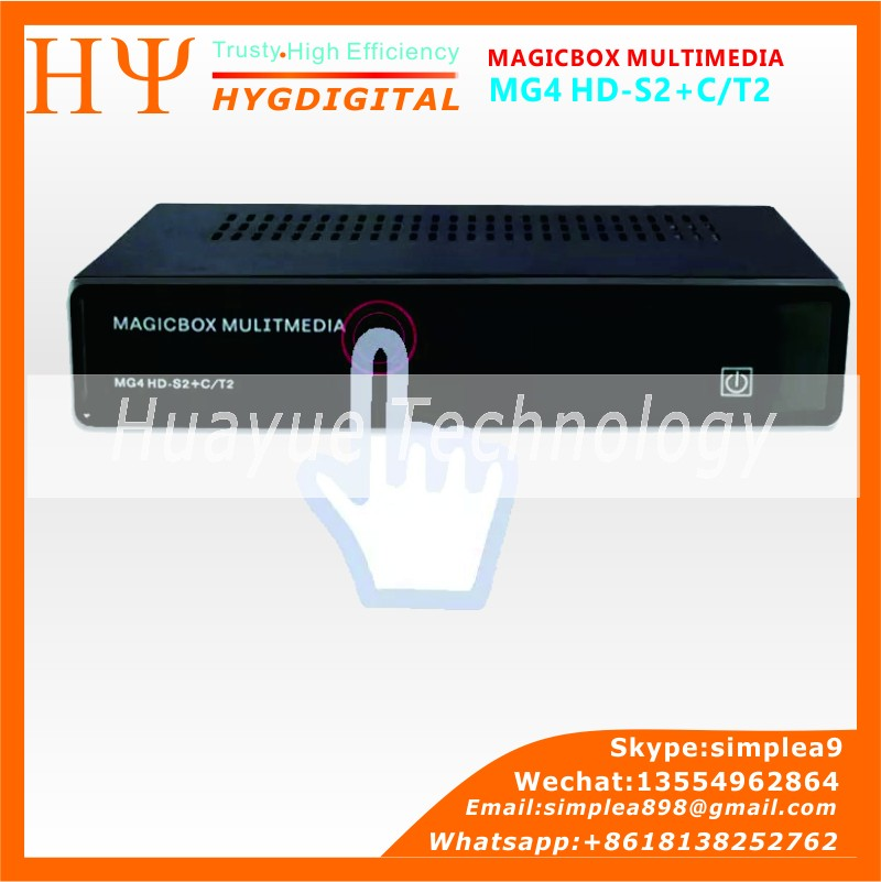 DVB s2/t2/c tuner MAGICBOX MG4 HD 300M wifi Satellite Tv Receiver magicbox mg4 hd FREESAT V7 FREESAT V7 COMBO
