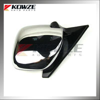 Chrome Side Door Mirror For Mitsubishi Montero Pajero V73 V75 V77 V78 MR978759 MR416479