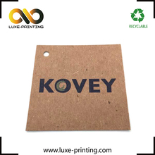 Factory direct wholesale no moq jeans paper shoes hang tags
