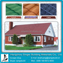 Certified Non-combustible and nonflammable Stone Coated Metal Roofing Tile