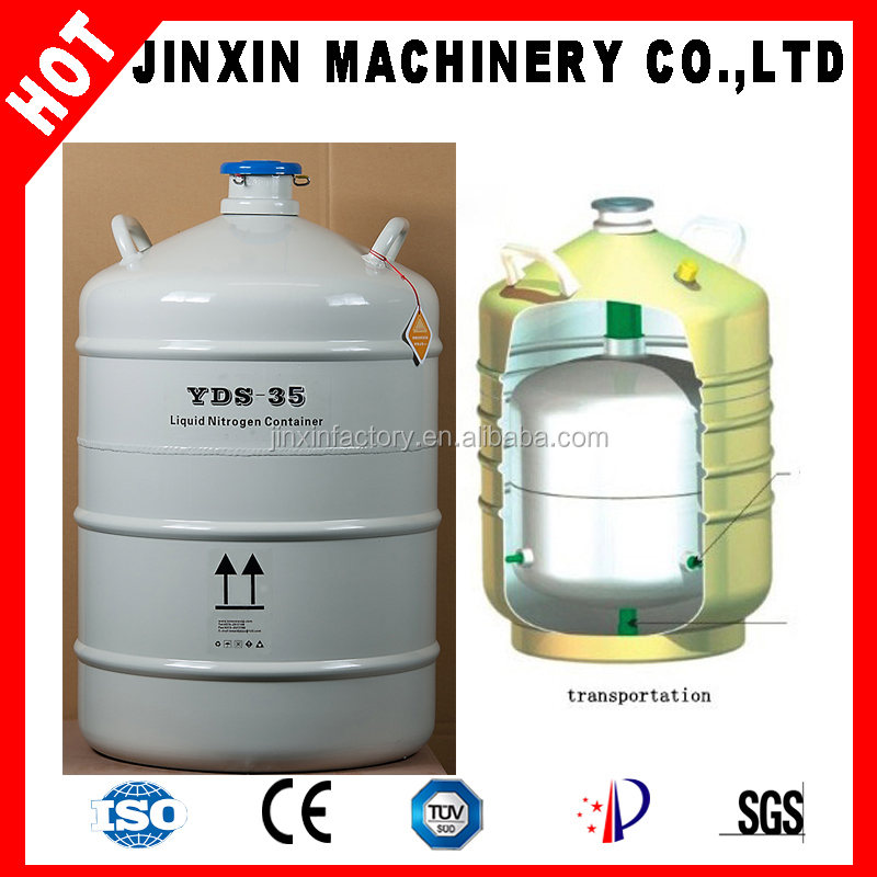 Yds-10 Small Capacity Liquid Nitrogen Storage Container ...