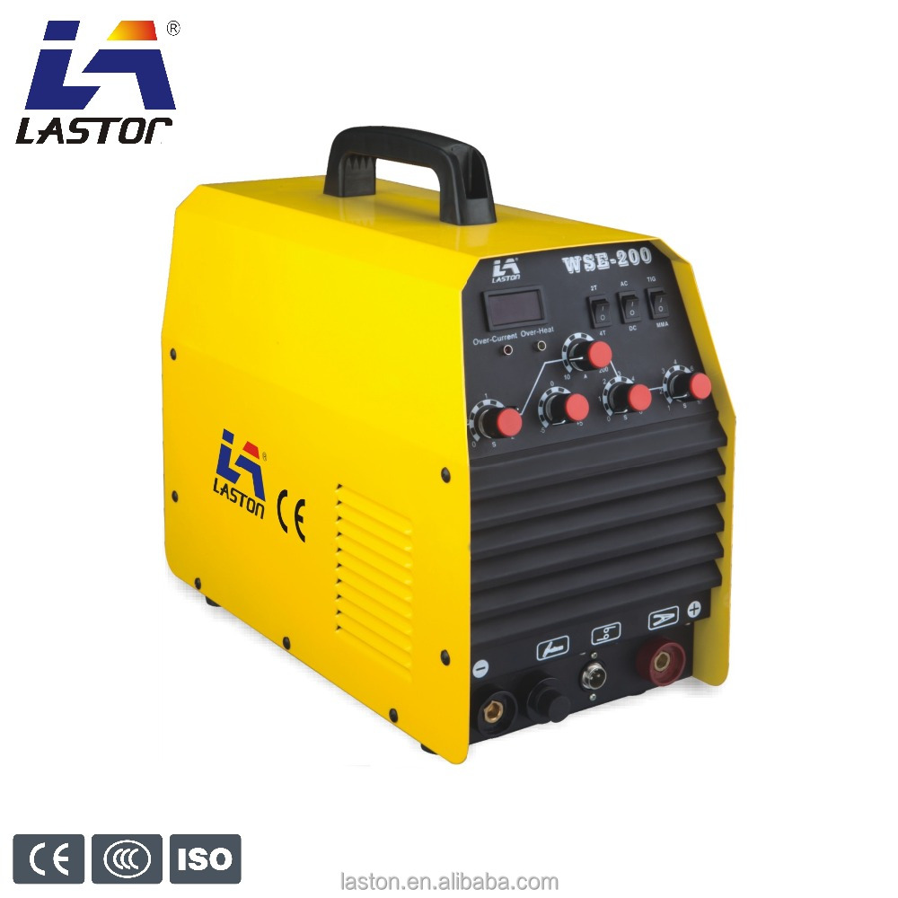 Good quality aluminum ac dc tig/arc welder inverter welding machine 200 p